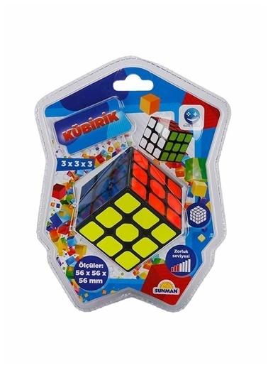 Sunman Smile Games Kübirik Zeka Küpü 3x3x3 Renkli